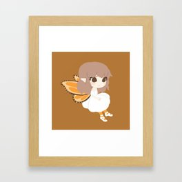 Golden Fairy Framed Art Print