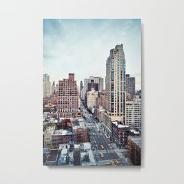 1st and 49th Metal Print