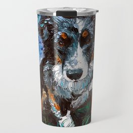 Australian Shepherd Night Travel Mug