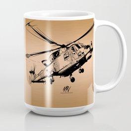 Copper Wildcat Coffee Mug