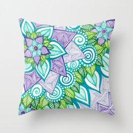 Sharpie Doodle 6 Throw Pillow