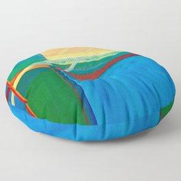Prizm  Floor Pillow
