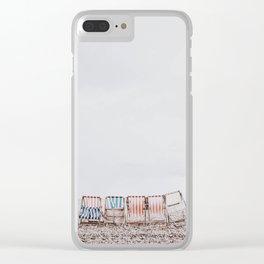 summer beach iii Clear iPhone Case