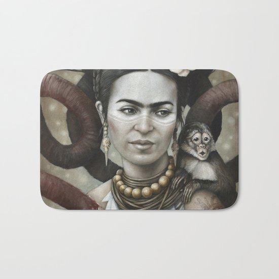Hommage à Frida Kahlo 3 Bath Mat