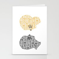 danisnotonfire Stationery Cards featuring Phan by ElectricShotgun