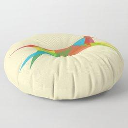 Fractal Geometric Dog Floor Pillow