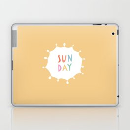 Sunday in Yellow Laptop & iPad Skin