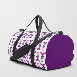 Mermaid Tails Pattern / Multicolor Scales Duffle Bag