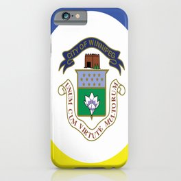 flag of winnipeg iPhone Case