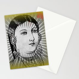 Matchbox Lady with Butterfly Stationery Cards