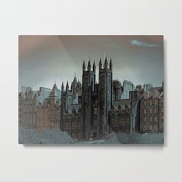 The Mound Edinburgh Metal Print