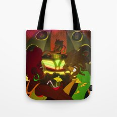 Being  Caribbean: Dance Hall Tote Bag