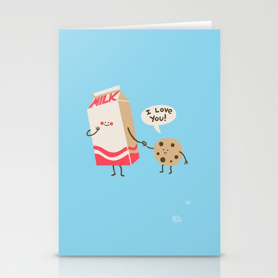 Cookie Loves Milk Stationery Cards