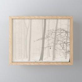 nature abstract Framed Mini Art Print