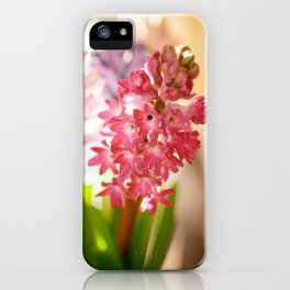 Hyacinth Sunray iPhone Case