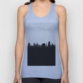 City Skylines: Tulsa Unisex Tank Top