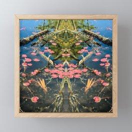 Lily lake Framed Mini Art Print