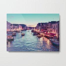 Grand Canal Venice Metal Print