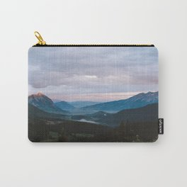 Sunset over Crested Butte Carry-All Pouch