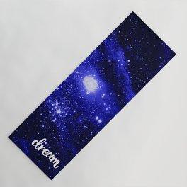 Blue Galaxy Dream Yoga Mat