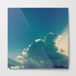 ray of sunlight Metal Print