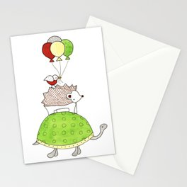Turtle's Party Stationery Cards