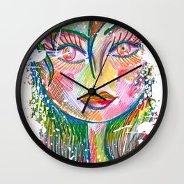 Sweet As A Peach Wall Clock
