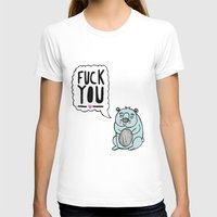 hamster T-shirts featuring Foul Hamster by jess moorhouse