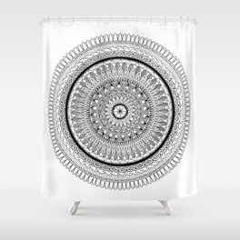 Synergy Mandala Shower Curtain