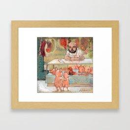 To Market Framed Art Print