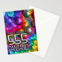 (UnOfficial) FREE BEER TOMORROW 555 PANTANO Stationery Cards