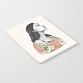 Blushing Blossoms Notebook