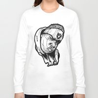 biggie smalls Long Sleeve T-shirts featuring Biggie Smalls Notorious Raiders  by sketchnkustom
