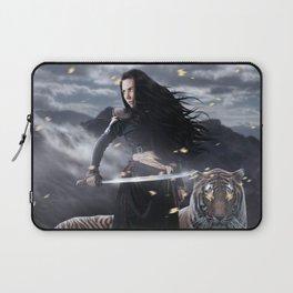 Warrior woman Laptop Sleeve