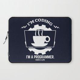 Programmer - I am coding Laptop Sleeve