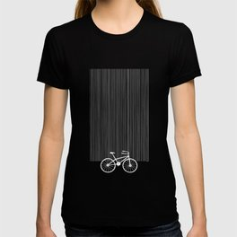 Blue Bike by Friztin T-shirt