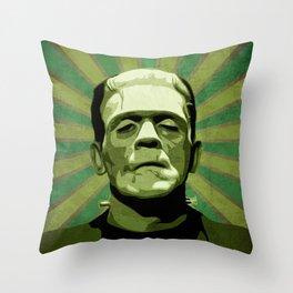 Frankenstein - Pop Art Deko-Kissen