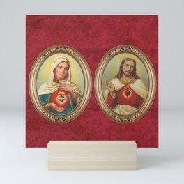 Sacred Heart Red Mini Art Print