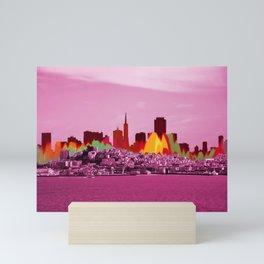 San Fransico Mini Art Print