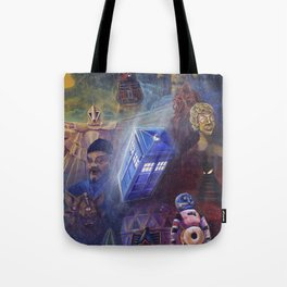 """""""13 in 50"""" a Tribute to Doctor Who Tote Bag"""