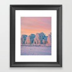 Ice Castles Framed Art Print