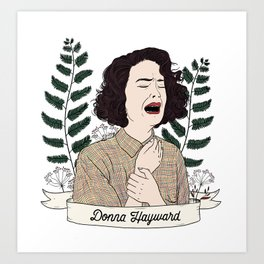 Twin Peaks (David Lynch) Donna Hayward Art Print
