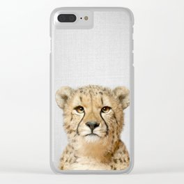Cheetah - Colorful Clear iPhone Case