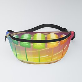 Colorful Psychedelic Landscape Fanny Pack