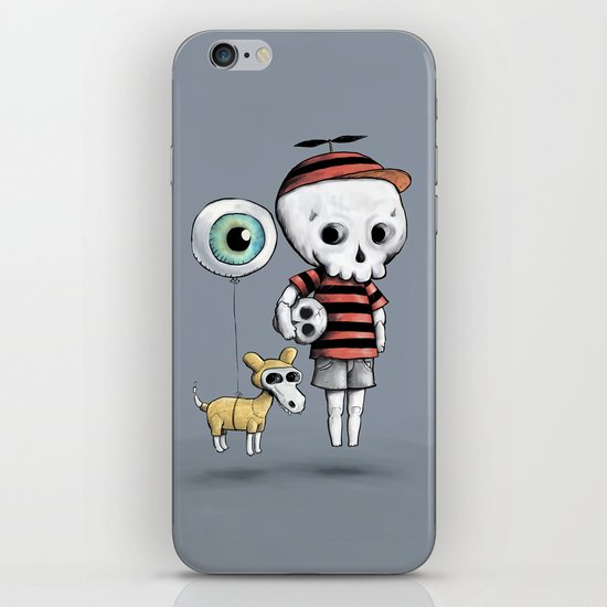Skull Kid iPhone & iPod Skin