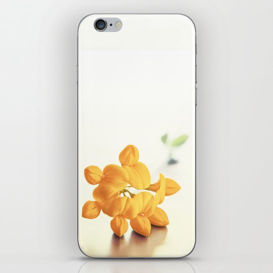 Yellow Clover iPhone & iPod Skin
