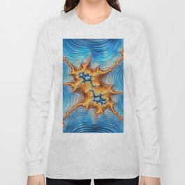 Abstract Lava Flows Long Sleeve T-shirt