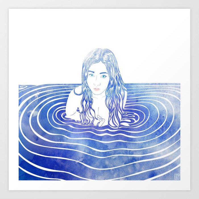 Water Nymph LIII Art Print