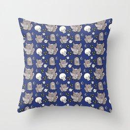 Little WereWolf Throw Pillow