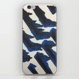 Blue Print iPhone Skin